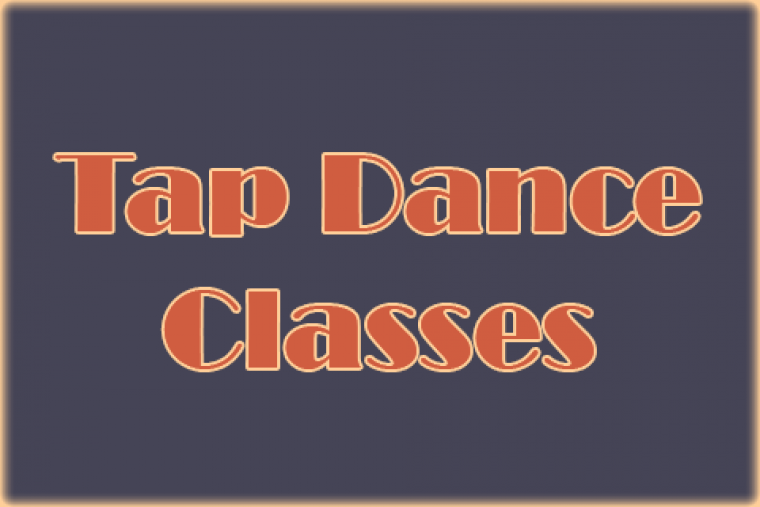 Tap dance classes logo.